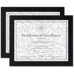 Dax Linen Insert Certificate Mahogany Frame - Frame