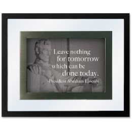 56 Units of Dax Presidential Quotes Motvtnl Print Frame - Frame