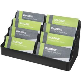 Deflect-o 8 Compartment Business Card Holder - Business cards