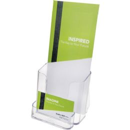 Deflect-o Countertop Leaflet Holder With Business Card Holder - Business cards