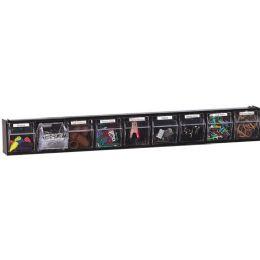 12 Units of DeflecT-O Interlocking Horizontal Tilt Bin - Storage and Organization