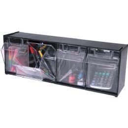 Deflect-o Interlocking Horizontal Tilt Bin - Storage and Organization