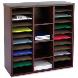 5 Units of Safco Aprs Modular Storage Literature Organizer - Organizer
