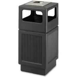Safco Canmeleon Ash Urn 38-Gal Waste Receptacle - Janitorial Supplies