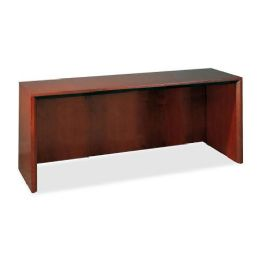 2 Units of Mayline Corsica Credenza with Modesty Panel - Office Supplies