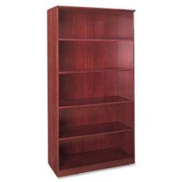 Mayline Corsica Series 5-Shelf Bookcase - Office Supplies