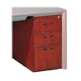 2 Units of Mayline Corsica Series Box/Box/File Pedestal for Desk - File Folders & Wallets
