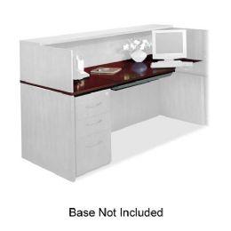 2 Units of Mayline Corsica Veneer Series Reception Desk - Office Supplies