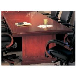 Mayline Toscana Veneer Conference Table - Office Supplies