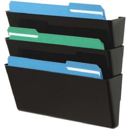 Deflect-o Letter-Size Stackable Wall DocuPocket - Office Supplies