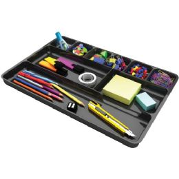 DeflecT-O Plastic Desk Drawer Organizer - Office Supplies