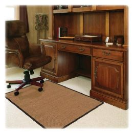 6 Units of Deflect-o RollaMat Color Band Sisal Chair Mat - Office Chairs