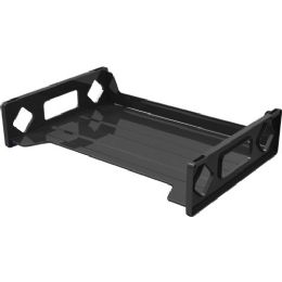 Deflect-o Single Self Stacking Legal Tray - Office Supplies