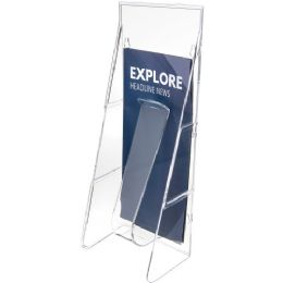 6 Units of Deflect-o Stand-Tall Leaflet Wall Unit - Office Supplies