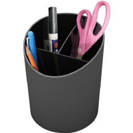 Deflect-o Sustainable Office Large Pencil Cup 30% Recycled Content - Office Supplies