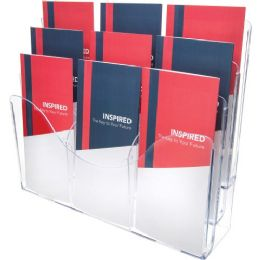 DeflecT-O Three Tier Document Organizer With Dividers - Organizer