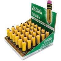 Dixon Latex-free Pencil-shape Eraser - Office Supplies