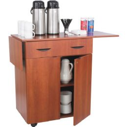 Safco Hospitality Service Cart - Office Supplies