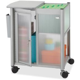 3 Units of Safco Impromptu Personal Mobile Storage Center with Hanging File - File Folders & Wallets