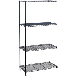 5 Units of Safco Industrial Wire Shelving Add-On Unit - Office Supplies