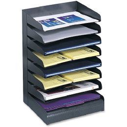 Safco Letter-Size Desk Tray Sorter - Office Supplies