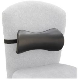 Safco Lumbar Support Memory Foam Backrest - Office Supplies