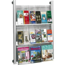 Safco Luxe Magazine Rack - Office Supplies