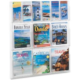 Safco Magazine And Pamphlet Display Rack - Office Supplies
