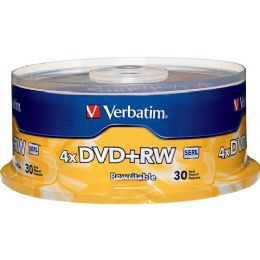 Verbatim 4x DVD+RW Media - Data Media