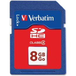 92 Units of Verbatim 8 Gb Secure Digital High Capacity (sdhc) - Flash Drives
