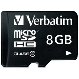 96 Units of Verbatim 96807 8 Gb Microsd High Capacity (microsdhc) - Flash Drives