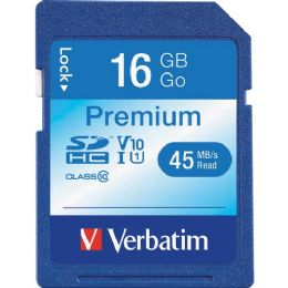 Verbatim 96808 16 Gb Secure Digital High Capacity (sdhc) - Flash Drives