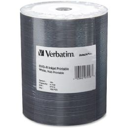 Verbatim 97016 Dvd Recordable Media - DvD-R - 16x - 4.70 Gb - 100 Pack Wrap - Data Media