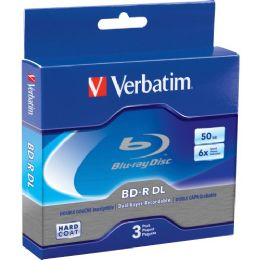 Verbatim Blu-ray Dual Layer BD-R DL 6x Disc - Flash Drives