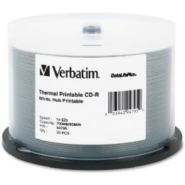 Verbatim DataLifePlus 94795 CD Recordable Media - CD-R - 52x - 700 MB - 50 Pack Spindle - Data Media