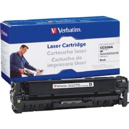 Verbatim HP CC530A Compatible Black Toner Cartridge - Ink & Toner Cartridges