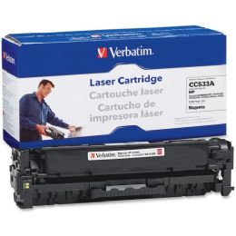 8 Units of Verbatim HP CC533A Compatible Magenta Toner Cartridge - Ink & Toner Cartridges