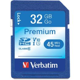 Verbatim 32 Gb Secure Digital High Capacity (sdhc) - Flash Drives