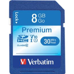 92 Units of Verbatim 96318 8 Gb Secure Digital High Capacity (sdhc) - Flash Drives