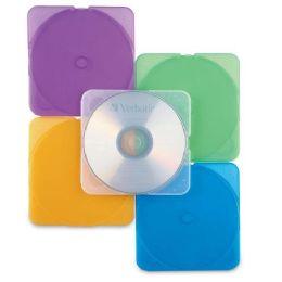 170 Units of Verbatim TRIMpak CD / DVD Color Case - Office Supplies