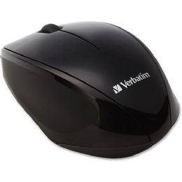 Verbatim Wireless MultI-Trac Blue Led Optical Mouse - Black - Consumer Electronics