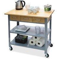 Vertiflex Countertop Serving Cart - Office Supplies