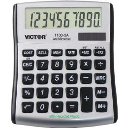 Victor 11003A Mini Desktop Calculator - Office Calculators