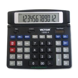Victor 12004 Desktop Calculator - Office Calculators