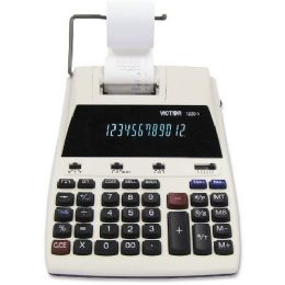 8 Units of Victor 12204 Desktop Calculator - Office Calculators
