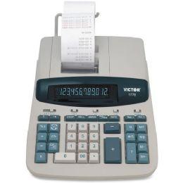 4 Units of Victor 1776 TAA-compliant Ribbon Print Calculator - Office Calculators