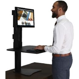 Victor High Rise Sit-Stand Desk Converter - Office Supplies