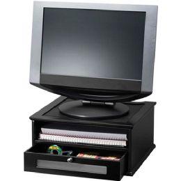Victor Midnight Black 1175-5 Monitor Riser - Computer monitor