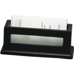 Victor Midnight Black Business Card Holder - Business cards