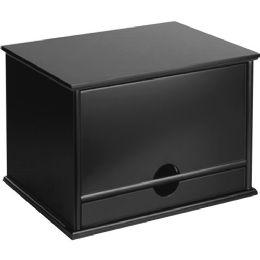 Victor Midnight Black Desktop Organizer - Office Supplies